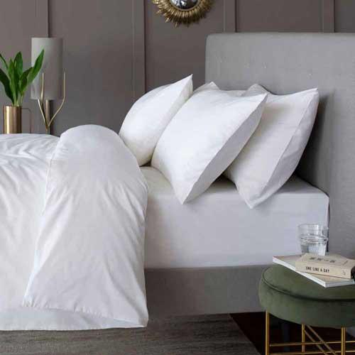 200 Thread Count Cotton Percale Bedding