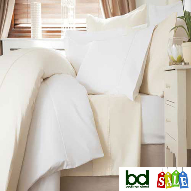 600 Count Cotton Sateen Bed Linen
