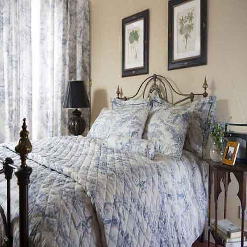 Toile de Jouy Cotton Bedding
