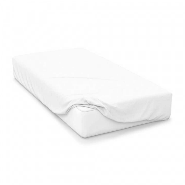 """18"""" Deep 200 Count Polycotton Percale Fitted Sheets"""