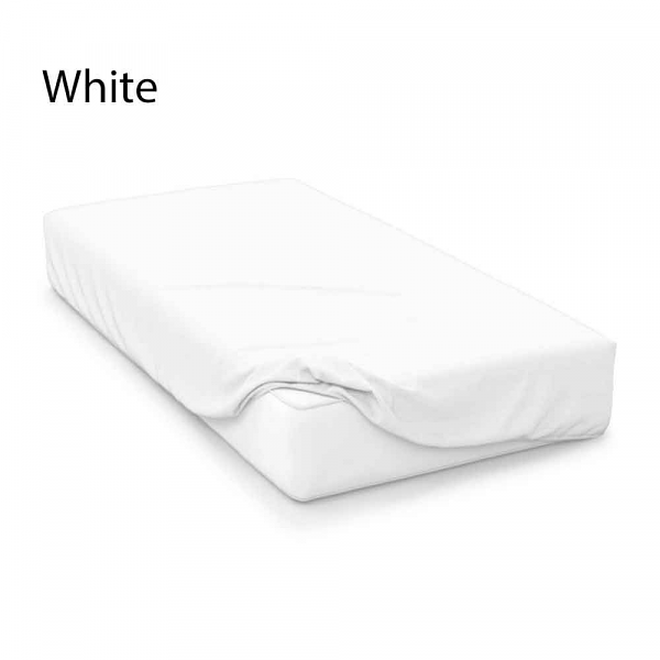 4FT 18 Inch Extra Deep Polycotton Percale Fitted Sheets