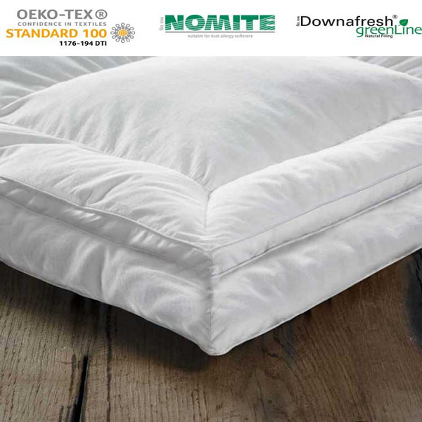 12CM Extra Deep Pure Duck Down Mattress Toppers
