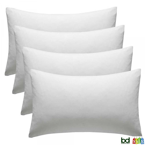 4 Pack Cotton Pillowcases