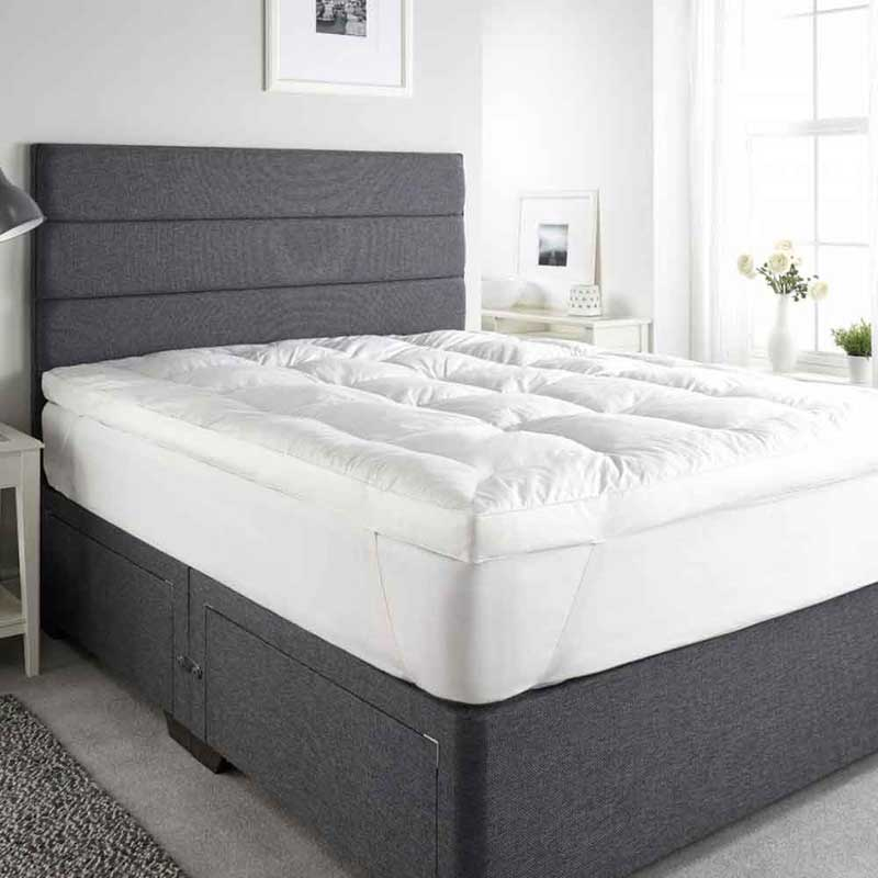122CM x 200CM Goose Feather and Down Mattress Toppers