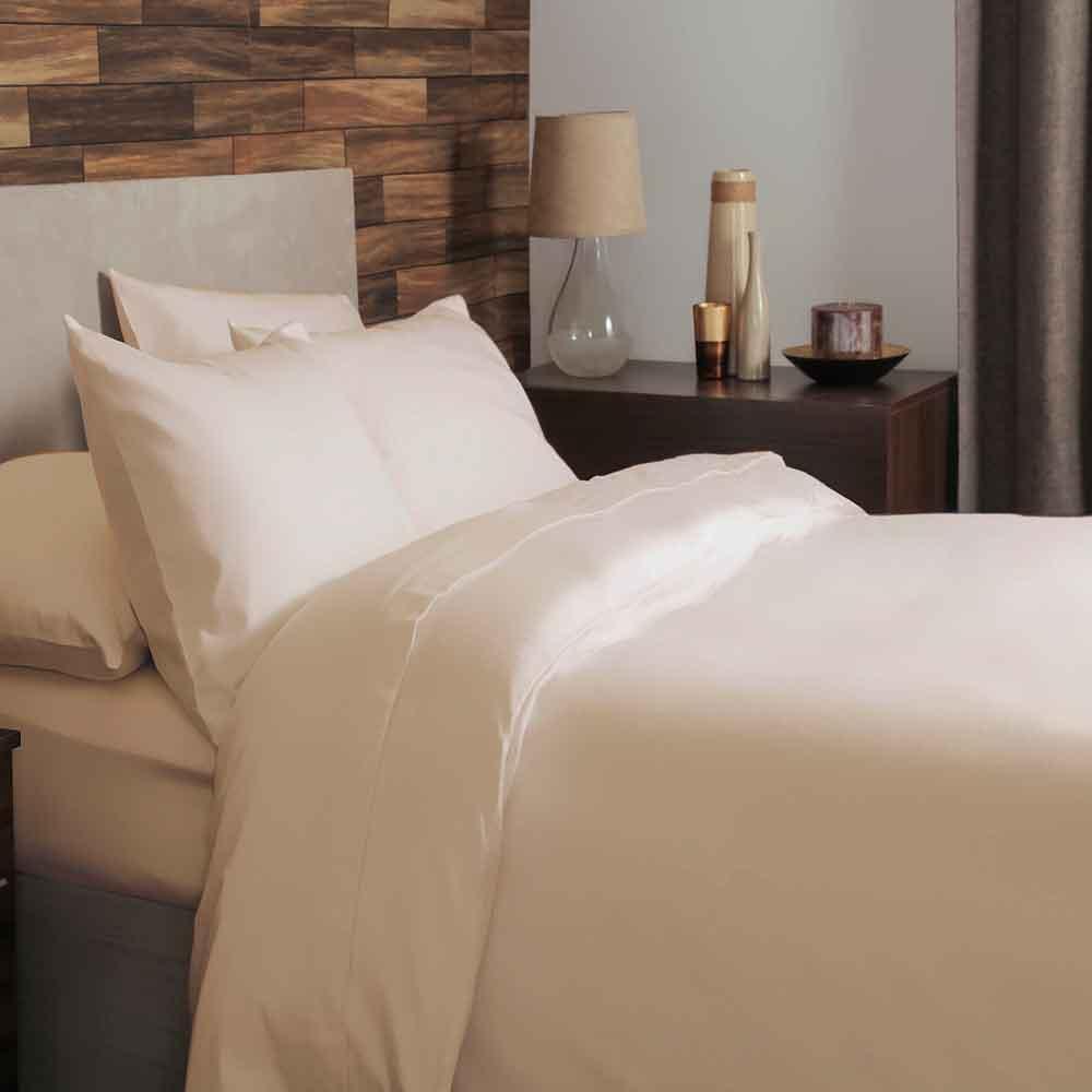 Cream Brushed Cotton Bedding
