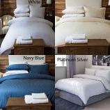 540 Thread Count Hotel Stripe Cotton Duvet Sets