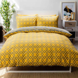 Belledorm Atlanta Saffron Duvet Cover Sets