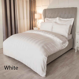 Belledorm Metropolitan White Cotton Duvet Cover Sets