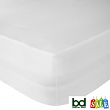 "122CM x 200CM Polycotton Percale 15"" Deep Fitted Sheets"