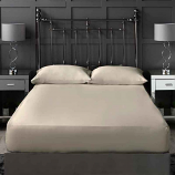 Ivory 300 Thread Count Cotton Sateen Bedding