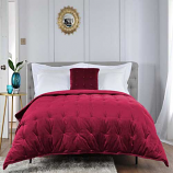 The Lyndon Company Velvet Dot Quilted Throws