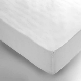 "3FT 6"" x 6FT 3"" Polycotton Percale Fitted Sheets"