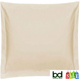 Belledorm Cream 400TC Egyptian Cotton Square Oxford Pillowcase