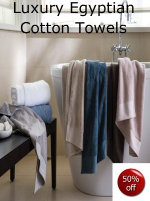 Egyptian Cotton Towels Sale Now On